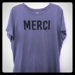 Old Navy French inspired graphic tee